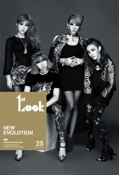 2NE1 X 1st Look : NEW EVOLUTION