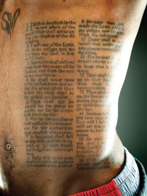 Psalm 91 Tattoo
