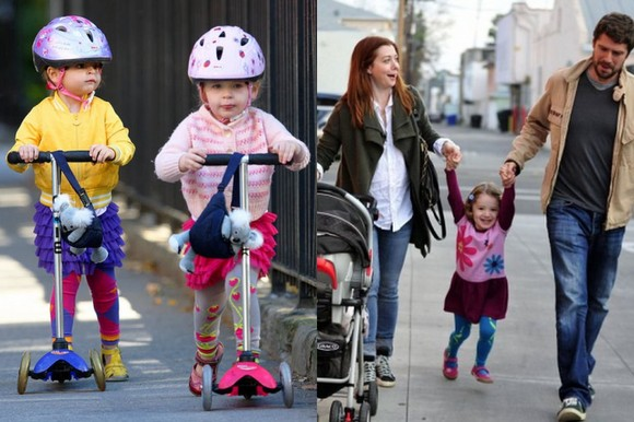 Celebrity Toddlers Make A Bold Fashion Statement With Luna Leggings
